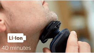40 minuti di rasatura senza filo