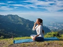 6) Balanced breathing
