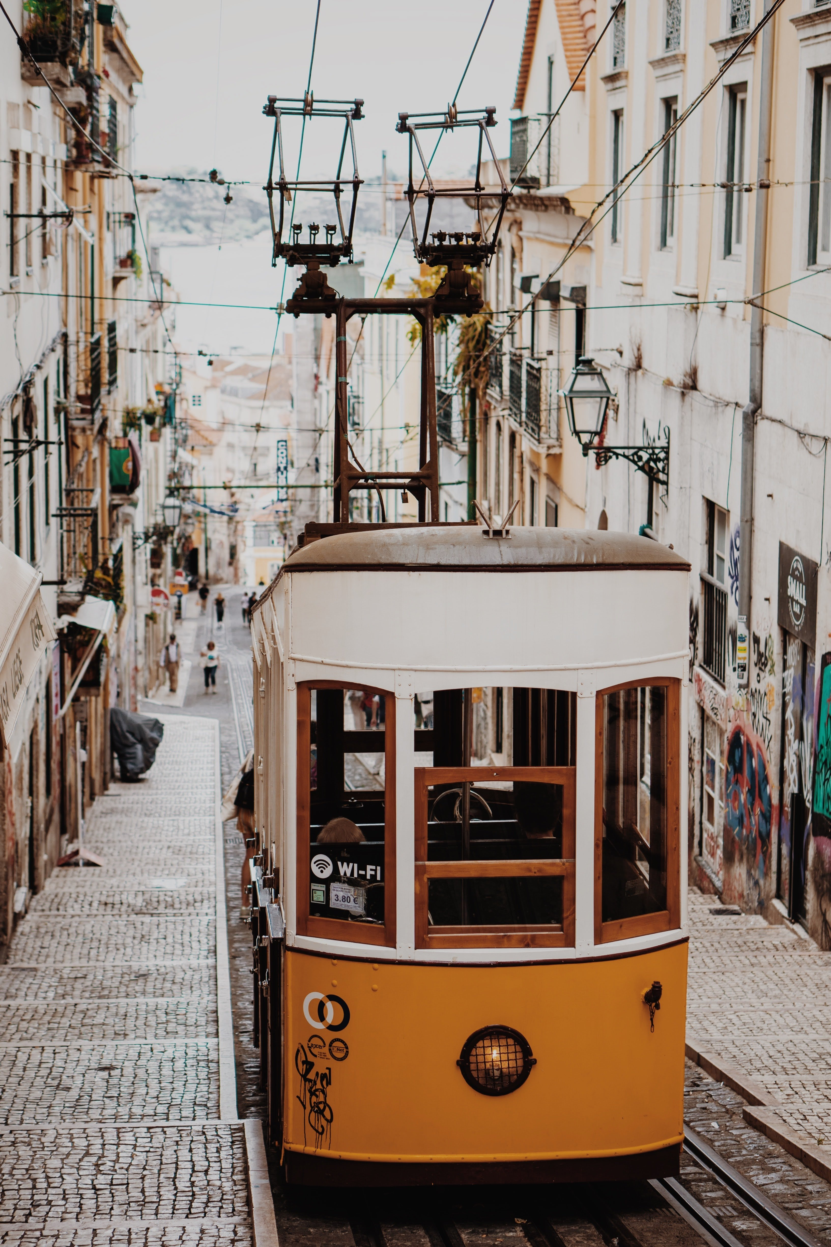 Image of Lisbon electric trams