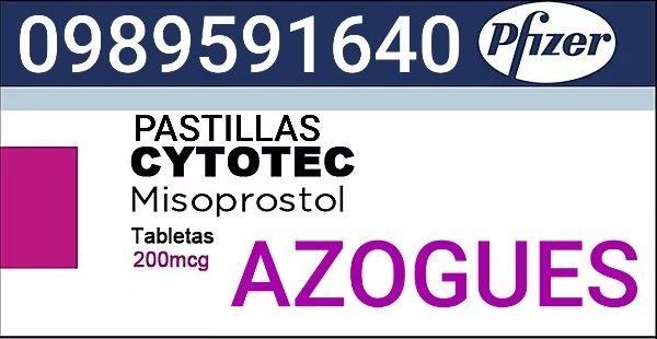 PASTILLAS APARA ABORTAR EN AZOGUES 0989591640