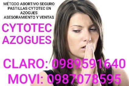 ENTREGA DIRECTA DE PASTILLAS CYTOTEC EN AZOGUES 0987078595