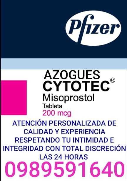 CYTOTEC MISOPROSTOL DE 200 mcg LABORTORIOS PFIZER EN AZOGUES 0987078595
