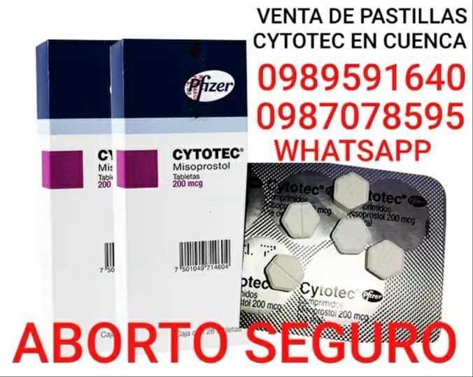 VENTA PASTILLAS CYTOTEC 200MCG EN GUALACEO 0989591640