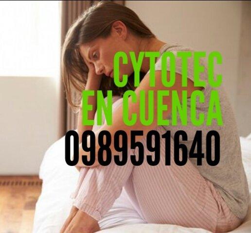 MÉTODO ABORTIVO SEGURO CON PASTILLAS CYTOTEC EN GUALACEO 0989591640