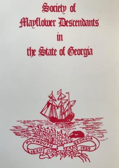 Georgia Mayflower Society
