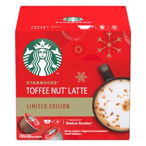 Edição Toffee Nut Latte disponível em cápsulas para máquinas NESCAFÉ® Dolce Gusto