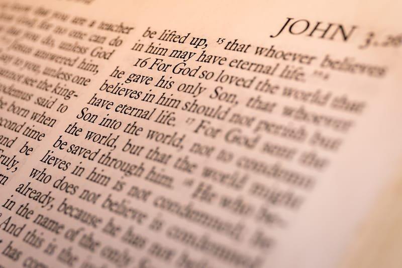 Book of John reading plan