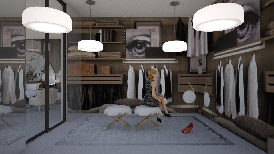 עיצוב חדר ארונות