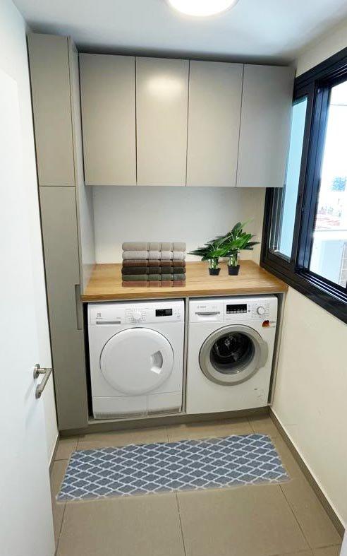 עיצוב חדר כביסה