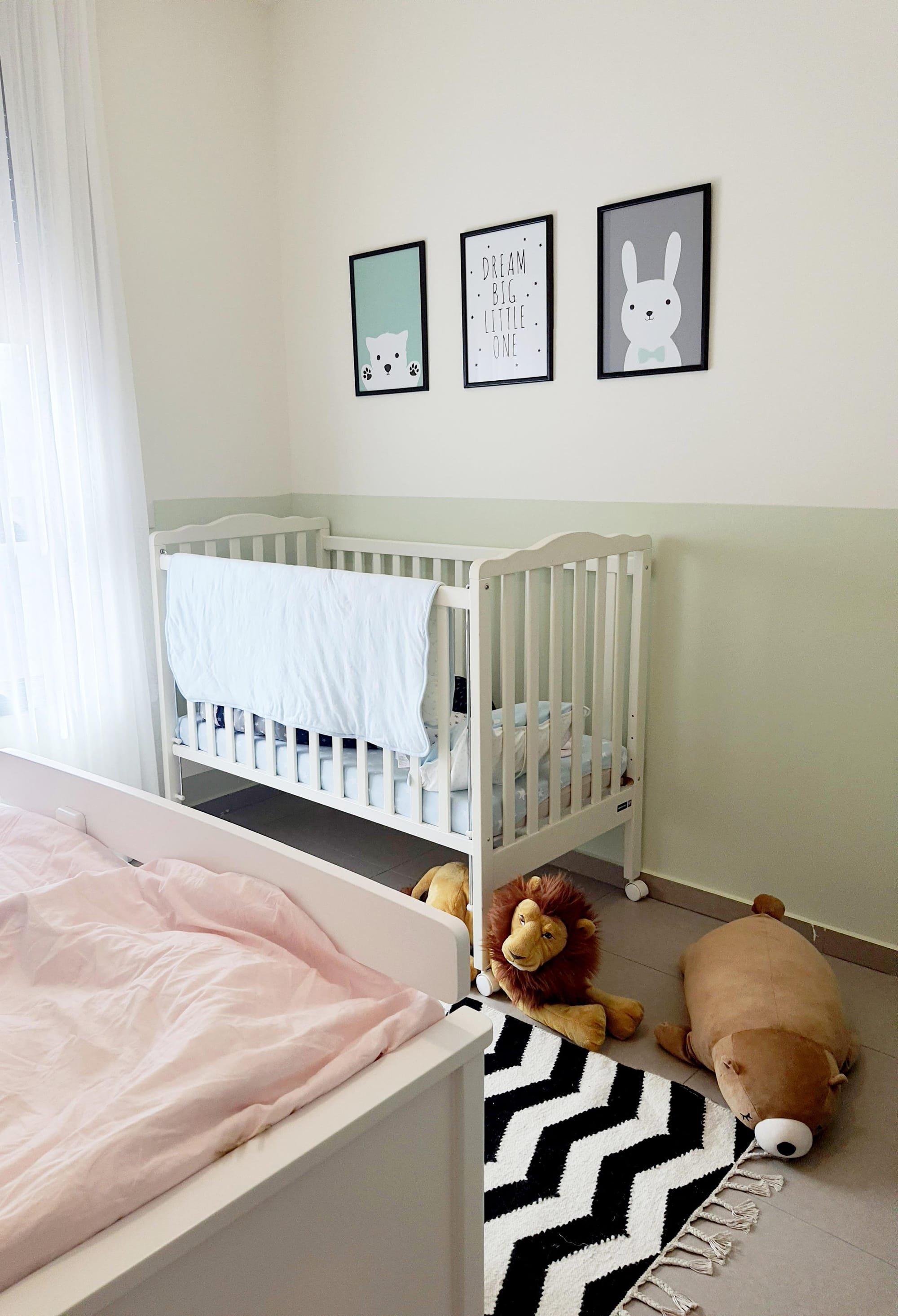 עיצוב חדר ילדים בסגנון נורדי