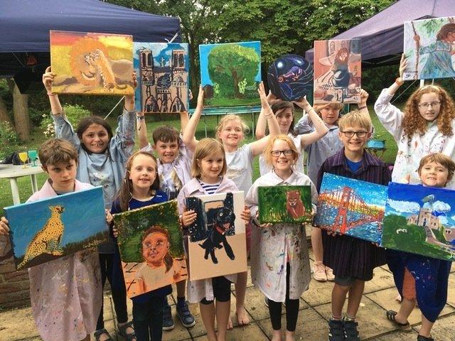 Children's Summer Art Course 2021 - established 2010