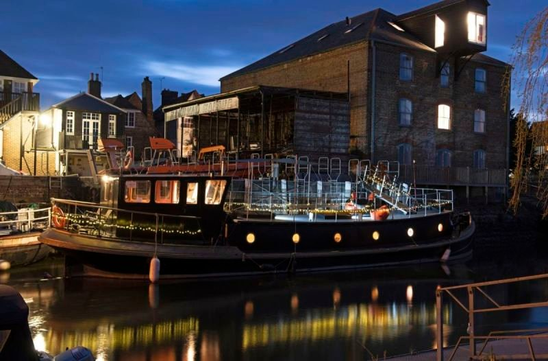 Dutch Barge, Salmestone, Sandwich