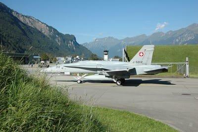 Militärflugplatz Meiringen