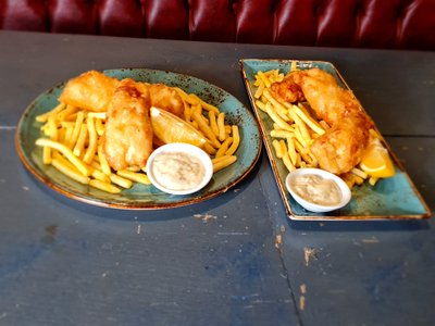 Henri's Fish and chip shop Friday