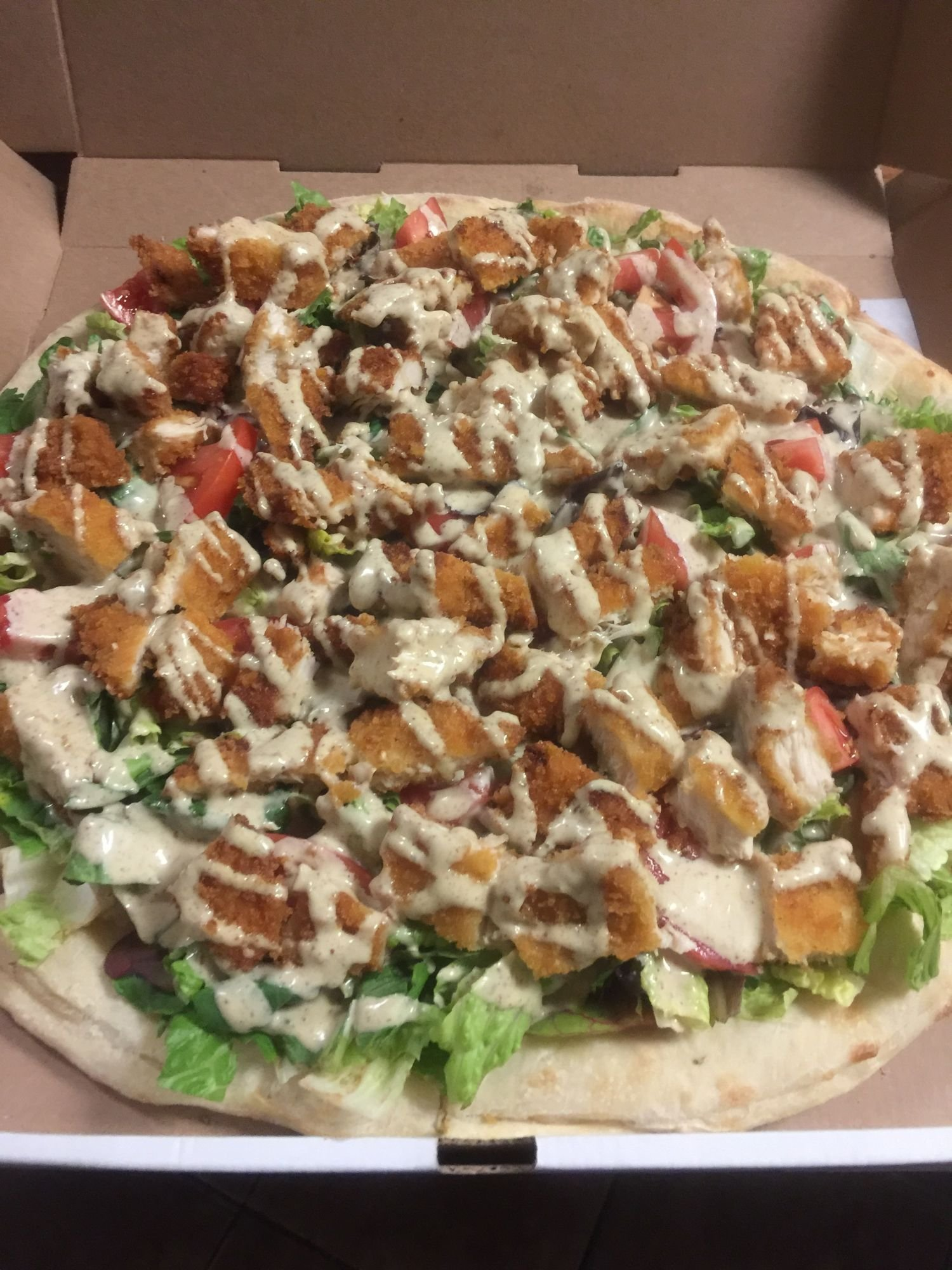 Honey Mustard Chicken Pizza Mama Bella S Pizzeria Restaurant