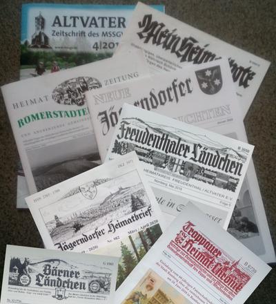Welche Heimatzeitungen gibt es?
