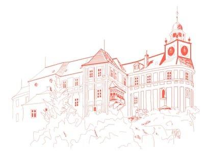 Kreis Freiwaldau: Schloss Johannisberg