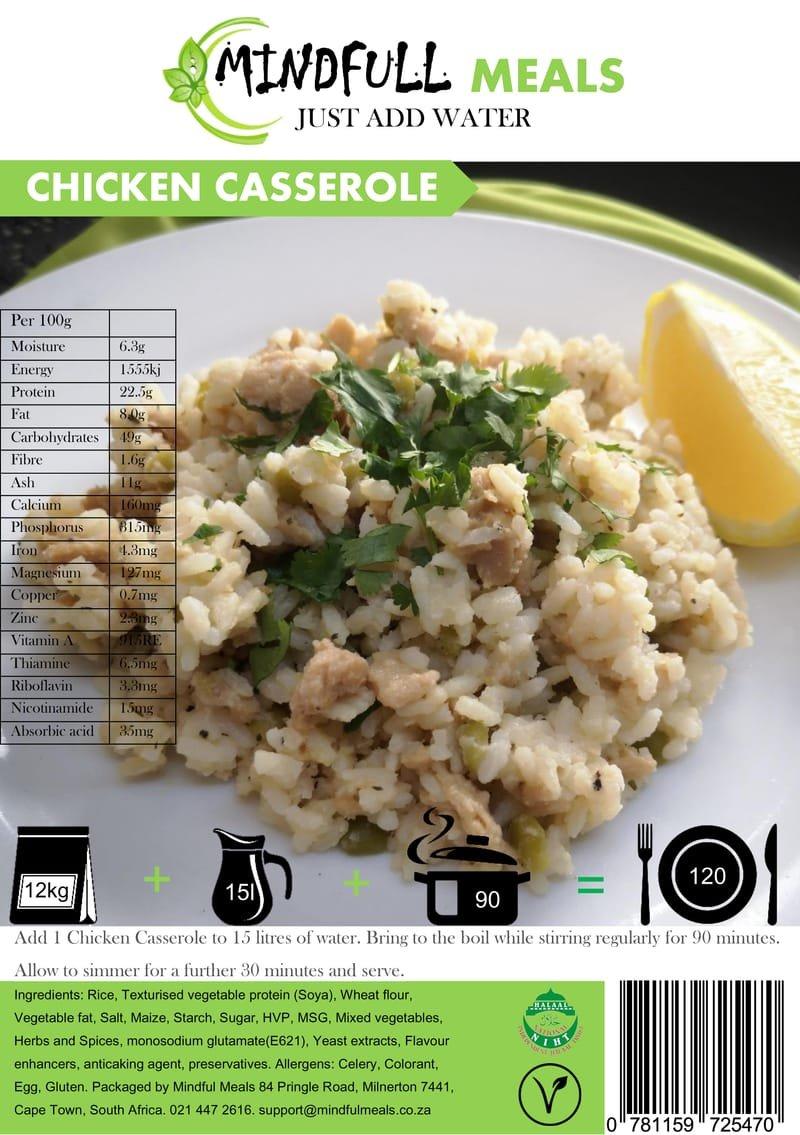 Chicken Casserole 12kg