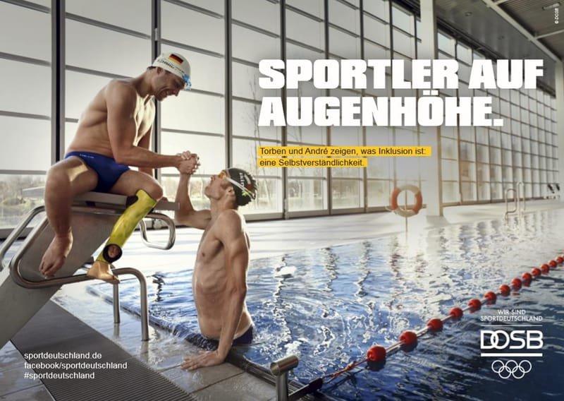 Sportabzeichen für Menschen mit Behinderungen