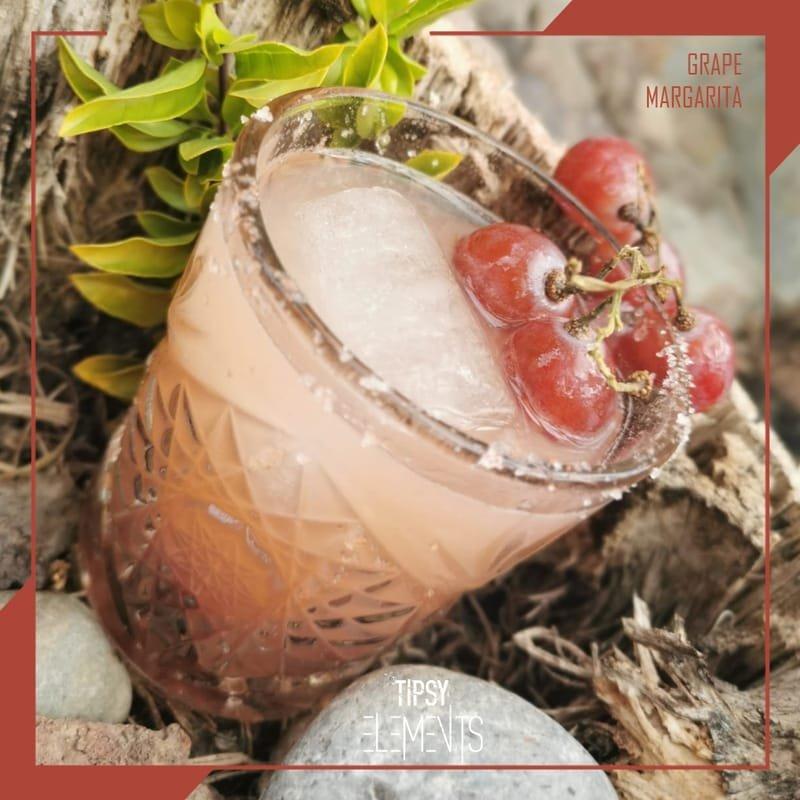 GRAPE with a salt rimmed glass (seasonal)