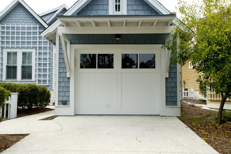 Inspection of safety factor of garage doors