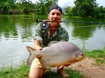 Fly Fishing in Phuket Fishing Park - Fly Fishing Advice Thailand