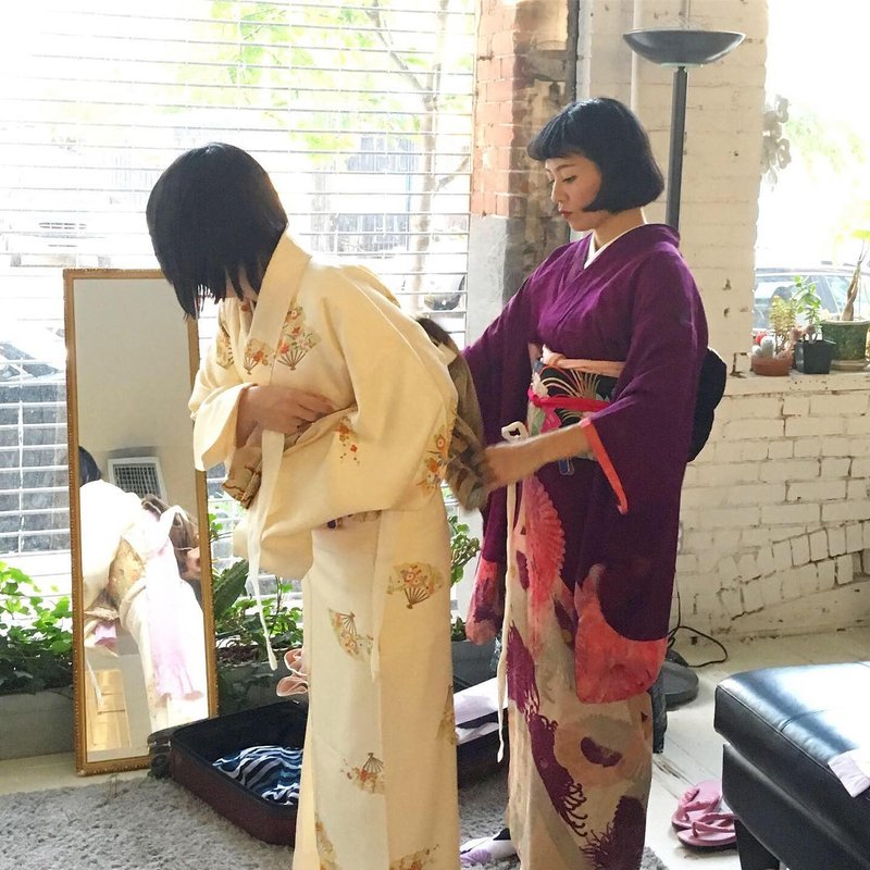 Start April 19th 2021! BASIC AND FORMAL DRESSING KIMONO & OBI MASTER CLASS (12 CLASS)