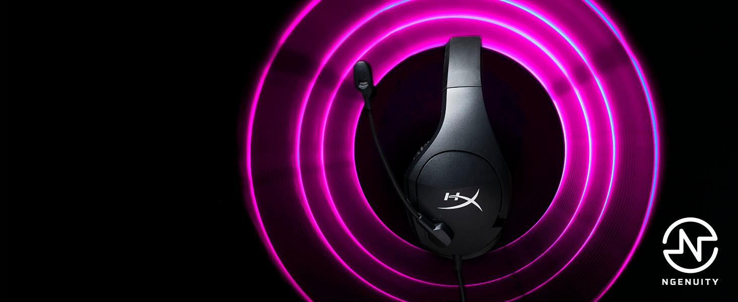 Virtual 7.1 surround sound via HyperX NGENUITY