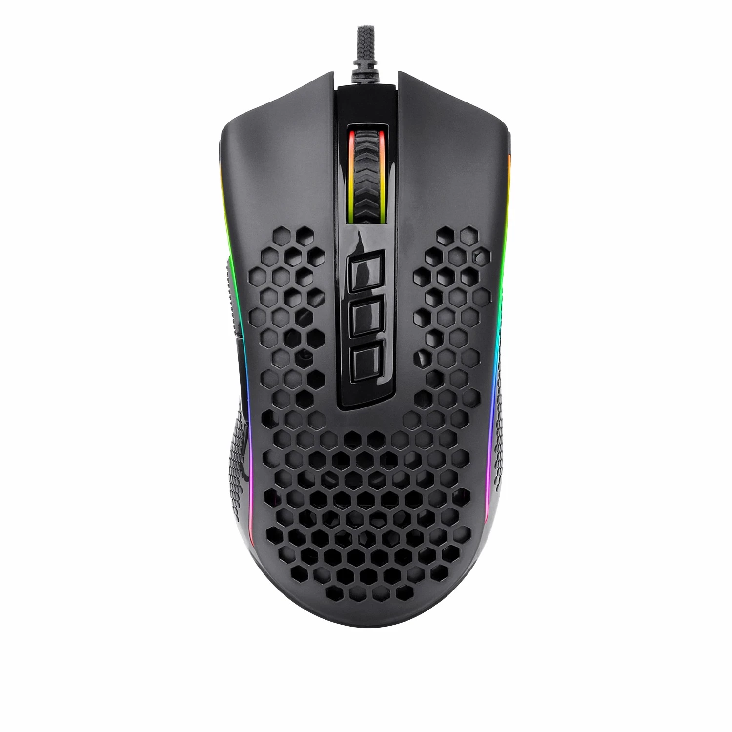 hight quality m808 Wired RGB Backlit 12000 DPI Laptop Gamer Mouse