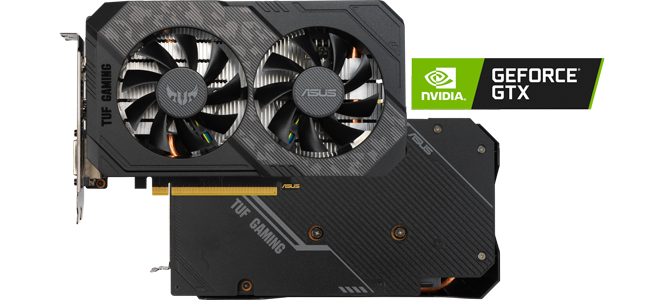 TUF GAMING NVIDIA GeForce 1660 Super Turing Graphics Card