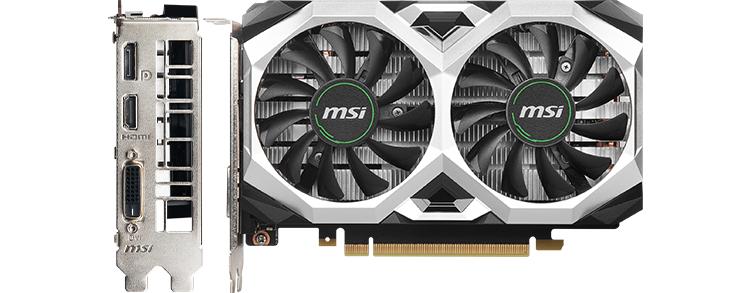 MSI 1650 Super Graphics Card