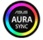 ASUS AURA SYNC badge