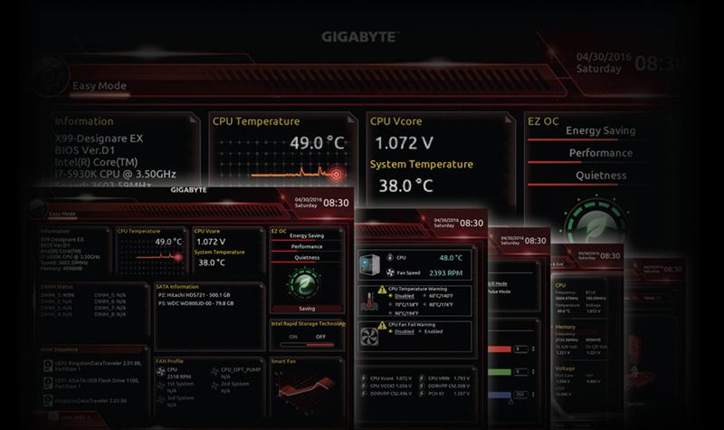 screenshot of BIOS