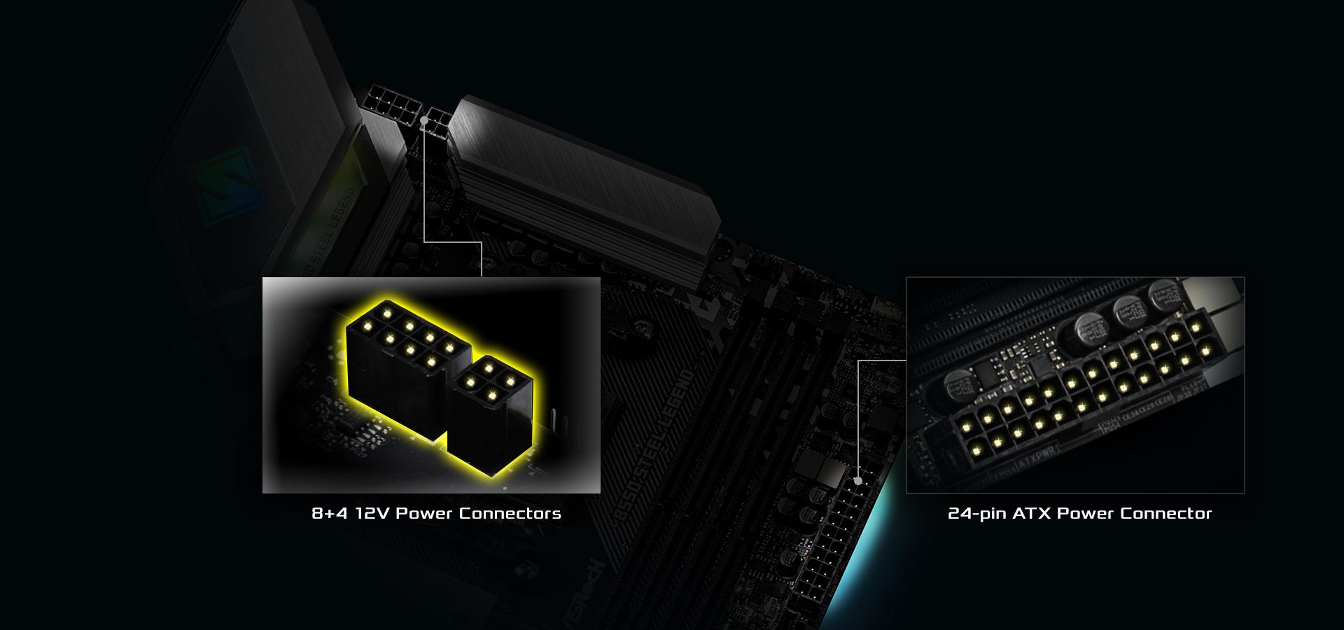 HiDensityPowerConnector-B550 of the motherboard
