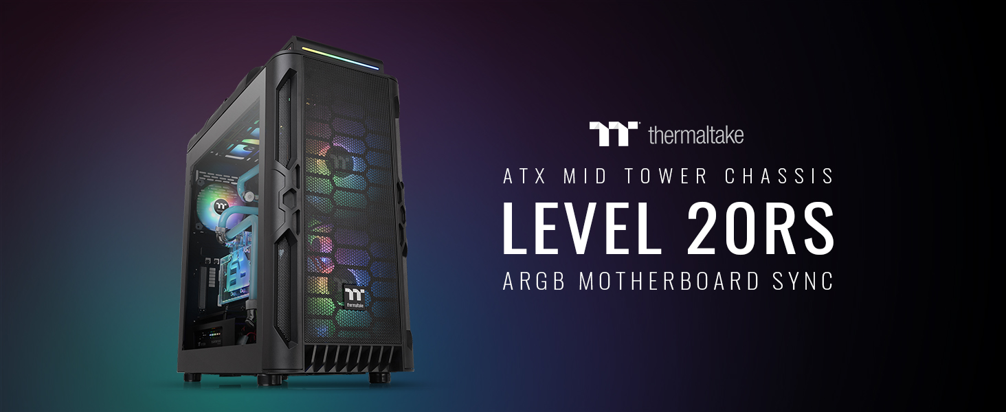Level 20 RS ATX Mid Tower Chassis