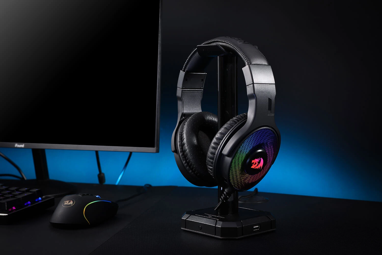 redragon rgb gaming headset