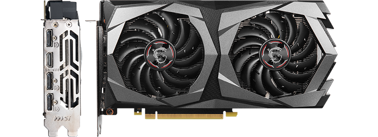 MSI 1650 Super Graphics Card