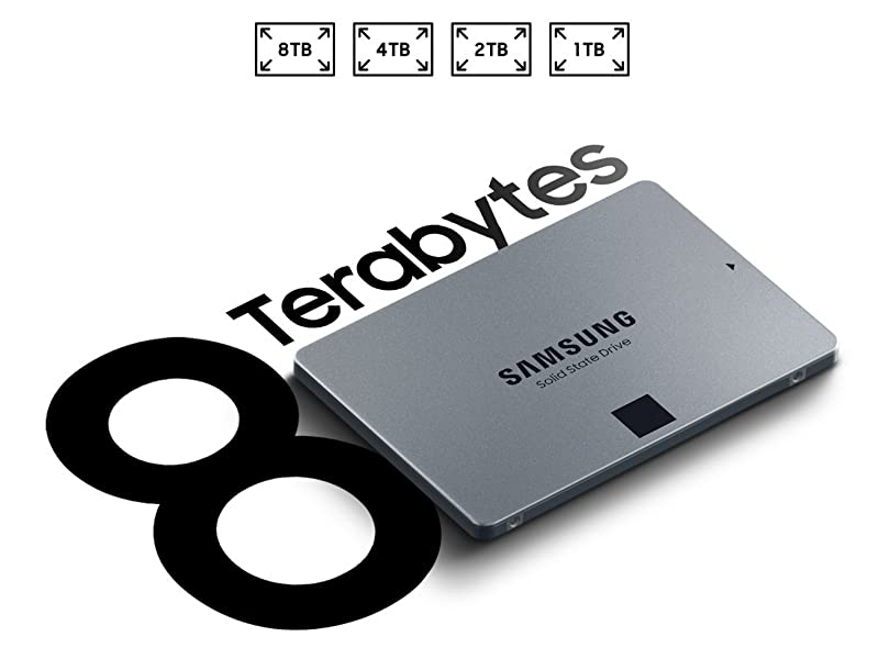 Capacity up to 8TB