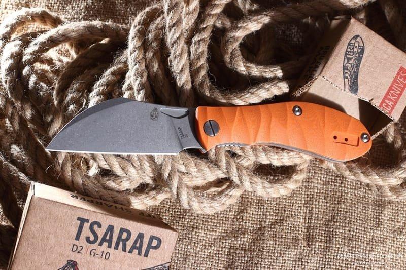 Tsarap folder orange