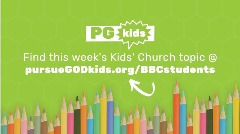 Pursue GOD Kids