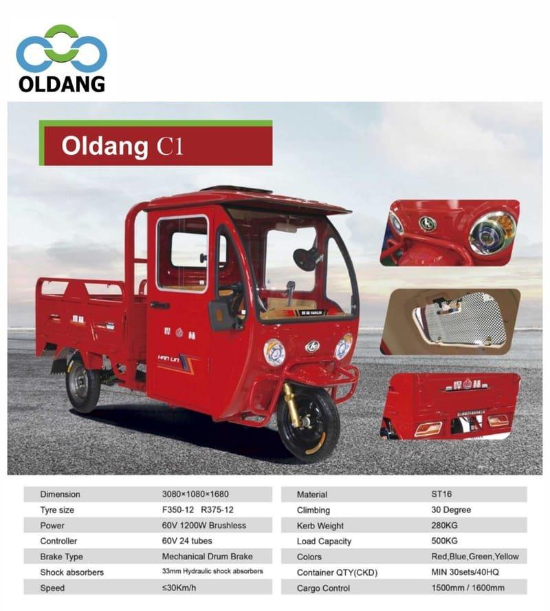 Oldang  C1 (3-wheels)