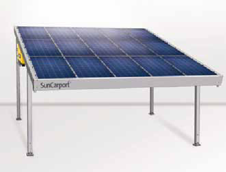 Solar PV Panel Carport