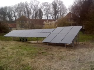 Ground Mounted Solar PV Panel Installation