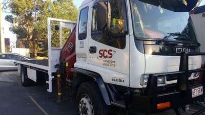 Crane Truck Companies Brisbane