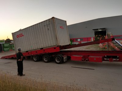Tilt Tray Container Shipping