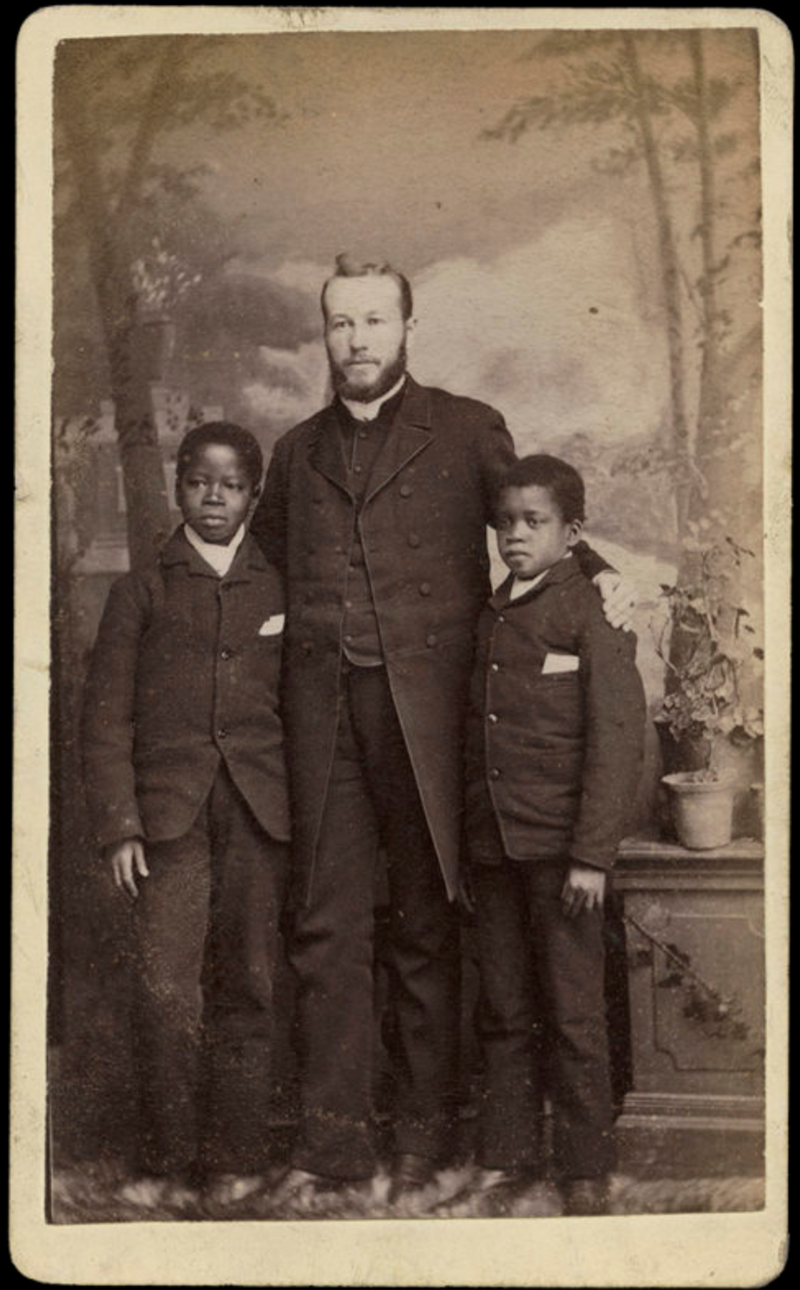 THE REMARKABLE REV WILLIAM HUGES AND THE CONGO BOYS (COLWYN BAY - WALES)