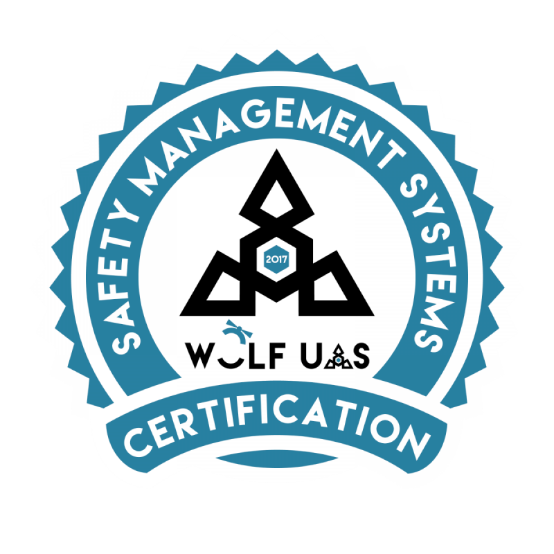 sUAS Safety Management Systems Certified