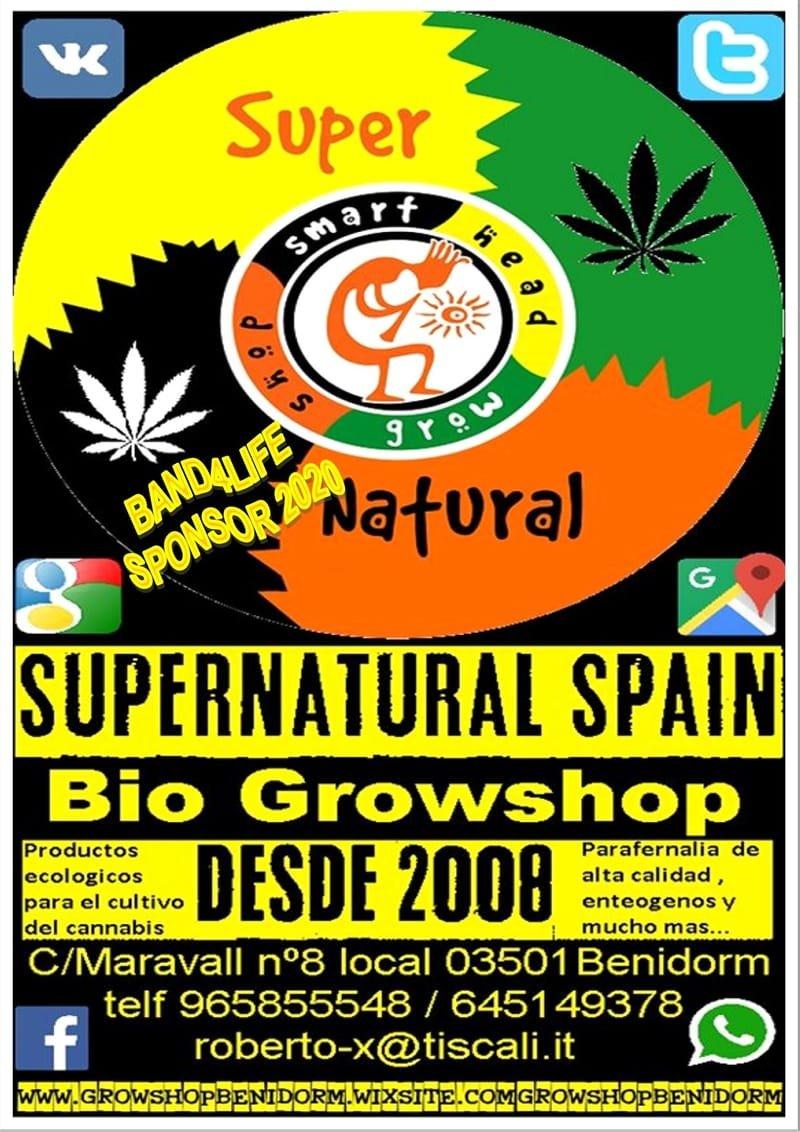 Grow Shop Benidorm Supernatural Spain (old town)