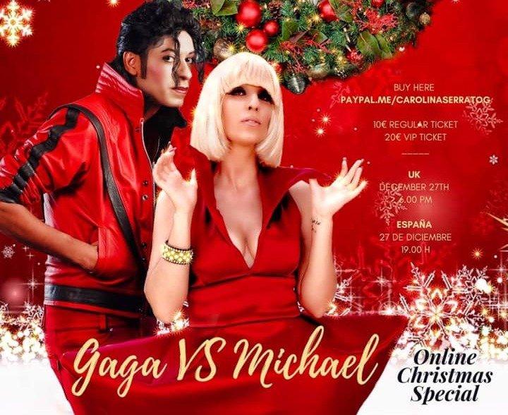 Gaga Vs Michael live show