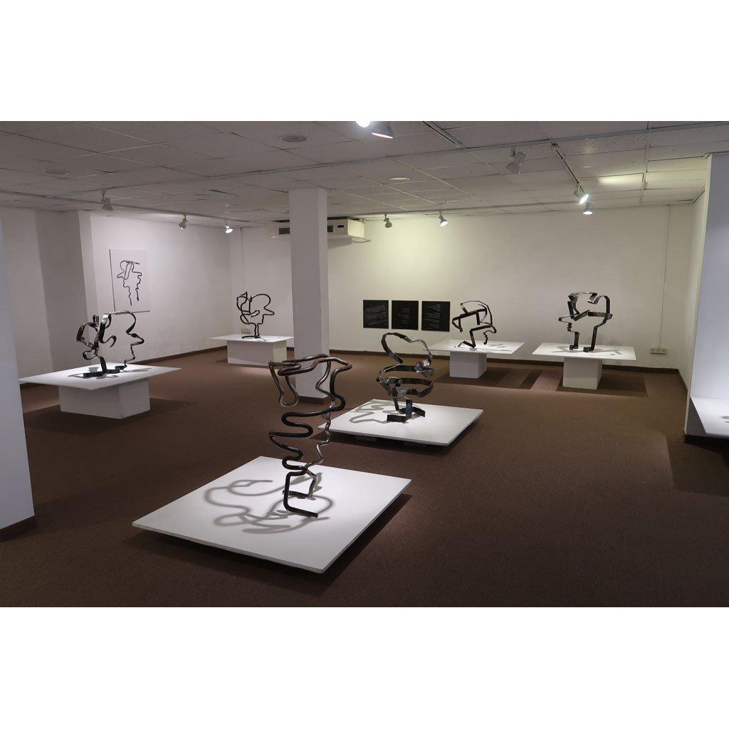 Rami Ater   Solo Exhibition   Iron Sculptures